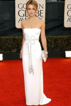 Keira Knightley : Best Golden Globe Dresses Ever