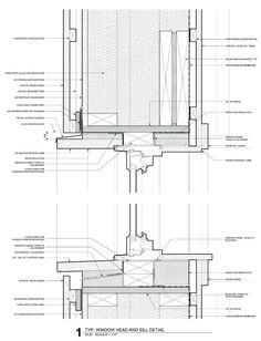 Resultado de imagen para window frame top view detail