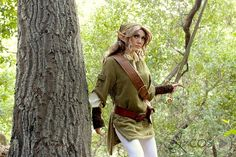 Beautiful Rule 63 Link Cosplay by Jennifer Kairis