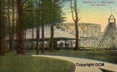 Roller Coaster at Pine Island Park Manchester NH