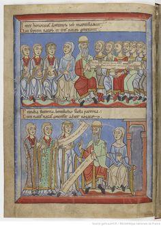 Dernière partie de cet ouvrage. Late 12th century. Love the shoes...