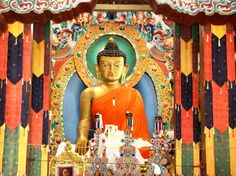 high Buddha at Tawang Monastery - Photographed by Aishwanee Basu Make My Trip, Direct Sales, Dance Moms, Land Scape, Teenagers, Jamaica, Giveaways, Counseling, Cute Cats