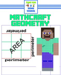 Mathcraft Geometry: Perimeter and Area - Time for Home School | CurrClick