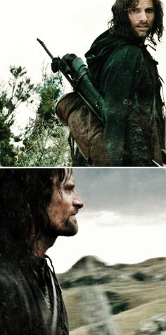 Aragorn: He's one of the wandering folk. R a n g e r s we call them. #lotr
