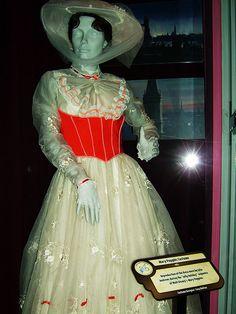 Original Mary Poppins organza dress