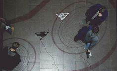 Interactive Shadow Art    #tech #art #computer