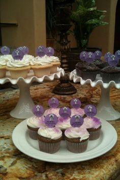 Baptism cupcakes :)