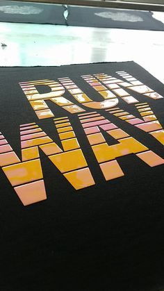 Flat, Glossy, High density, Halftone Screen printing effect SILICONE.