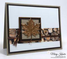Seasonal Layers Thinlits Dies, Wood Textures Designer Series Paper Stack