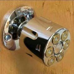 This would also make a good shower knob.