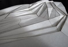 JORGE AYALA: Tectonic Landscapes | physical model