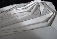 JORGE AYALA: Tectonic Landscapes | physical model