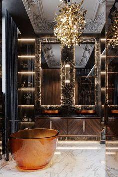 Bathroom Design Luxury, Luxury Interior Design, Interior Design Inspiration, Interior Architecture, Luxury Home Designs, Design Ideas, Luxury Bathrooms, Beautiful Interior Design, Top Interior Designers