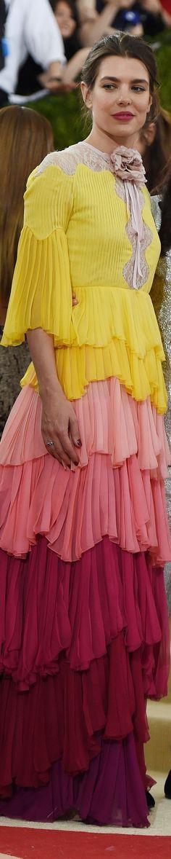Charlotte Casiraghi in Gucci, Met Gala 2016                                                                                                                                                     More