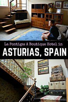 Asturias Hotels: La Pontiga Apartments — Where to Stay in Asturias, Spain travel, Family Travel, Travel with kids, Spain with kids, Northern Spain,