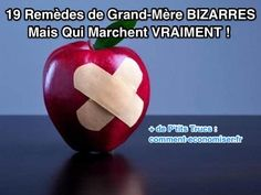 19 Remèdes BIZARRES Mais Qui Marchent VRAIMENT ! Bizarre, Natural Medicine, Healthy Tips, Good To Know, Health And Beauty, Affirmations, Health Care, The Cure, Health Fitness