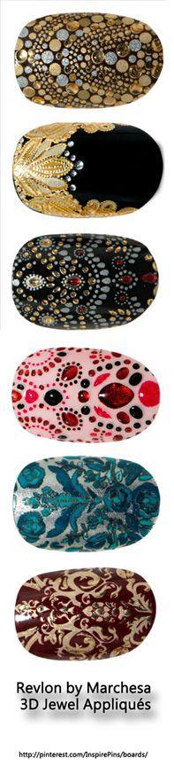 Revlon by Marchesa 3D Jewel Appliqués