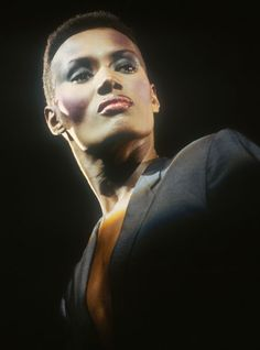 Peter Philips' screen beauties: Grace Jones | Fashion icon and iconic beauty. #youresopretty