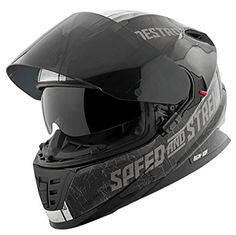 Speed and Strength Cruise Missile Men s SS1600 Sports Bike Motorcycle Helmet 2