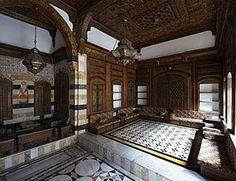Aga Khan in Old #Damascus - Syrian #Houses