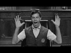 The Errand Boy (famosa cena do filme / pantomima do actor Jerry Lewis que numa reunião de negócios discute com os seus empregados, mas em vez de falar, mima o trompete da música de fundo)