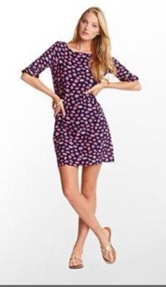 Lilly Pulitzer Camie Bocce Somerset Dress Small | eBay