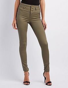 Colored Skinny Jeans & Denim Leggings | Charlotte Russe