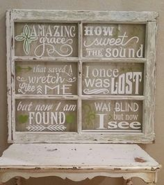 Window Design, Styles, And Inspiration – Voyage Afield Old Window Art, Old Window Crafts, Old Window Decor, Old Window Projects, Window Signs, Window Frames, Vinyl Projects, Diy Projects To Try, Window Pane Crafts