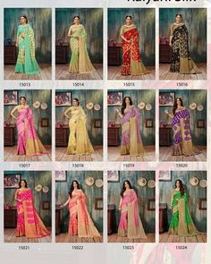 Ladies saree collection   KALYANI Silk - 2      Fabric- Weaving silk fabric.  Rate -best selling price for  single & multiple        Call & whatup 📞 +91-9413880140  And see more collection of ladies suit,saree, kurti,lengha and other collections of ladies  on  my Facebook page https://www.facebook.com/Fashion-fab-1450544898577078/  Thanks again for your help and support chhaiye   I hope for ur order on my whatup no +91-9413880140  Booking start   Fast only one chance and best services  and…