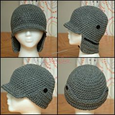 Trapper Hat - via @Craftsy