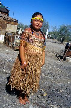 Vestimenta cucapah, Sonora Mexico