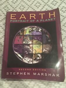 Earth Portrait Of A Planet By Stephen Marshak Paperback 2005 9780393925029 Ebay Paperbacks Planets This Book