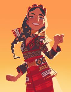""""""" I dunno if it helps or adds anything in any way, but I just wanted to say that this is my fave illustration of yours. But all of them are so good and I am a big fan! Female Character Design, Character Drawing, Character Design Inspiration, Character Illustration, Character Concept, Concept Art, Illustration Art, Philippine Mythology, Philippine Art"""