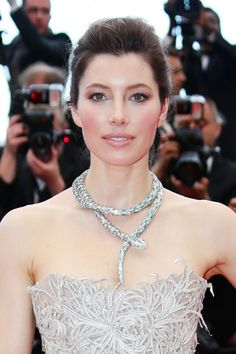 Jessica Biel - Inside Llewyn Davis  Cannes Film Festival Premiere