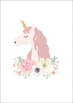 Unicorn Princess Print