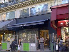 Toldo  arzua para Oysho. TGM Toldos Gómez en Paris.