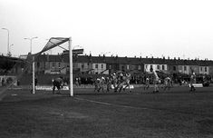 Once the South Stand was demolished the ground lacked character. Bristol Rovers, Street View, Character, Lettering