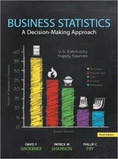 Business Statistics-A Decision-Making Approach 9th Edition by David F. Groebner Test Bank
