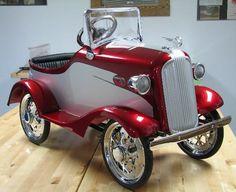 A Beautiful Vintage Pedal Car