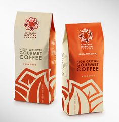 Authentic Mexican Flavor by Abel Almirall #packaging #coffee