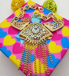 18K Gold Plated Nigerian Wedding African Beads Jewelry Set Crystal Saudi Jewelry Sets ZX229