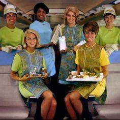 Flight Attendants http://vintage-everyday.blogspot.com
