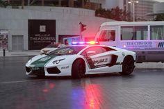 【スライドショー】ドバイのパトカーにランボルギーニ登場、エジプトではラクダが活躍 - WSJ.com