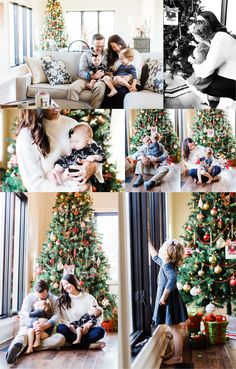 In-home lifestyle Christmas session by Morgan Williams Photography. Christmas photos, in-home Christ… – Newborn About Newborn Christmas Pictures, Funny Christmas Photos, Photo Christmas Tree, Family Christmas Pictures, Family Christmas Cards, Christmas Home, Family Pictures, Home Photo Shoots, Silver Christmas Decorations
