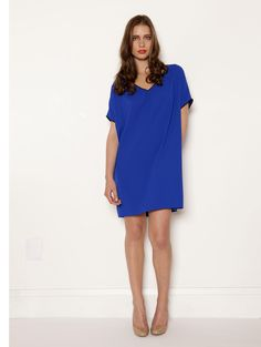 Dolman Sleeve Dress in Cobalt     (i have this dress and i LOVE it)