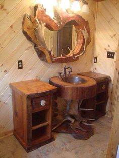 Finally, a basin sink I actually like! Minus the moose antlers