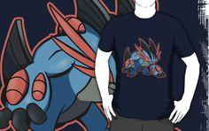 ====== Shirt for Sale ====== Mega Swampert   Pokemon tshirt by Kaiserin. =======================