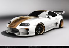 Toyota Supra Super Cars Wallpapers