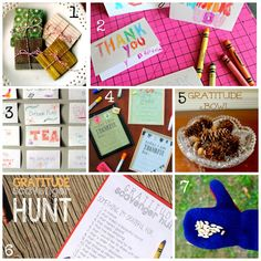 Lessons in Thankfulness: Year Round Gratitude Activities for Kids