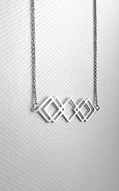 Bo proste jest ładne vol 2 Silver necklace.